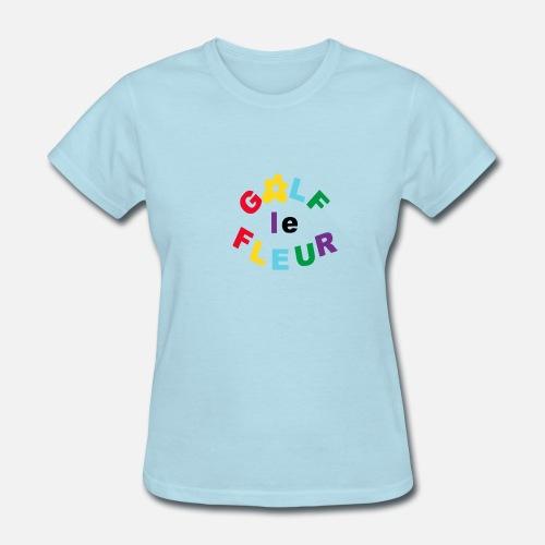 5b7a89bfd5a3f8 Golf Le Fleur Parody Women s T-Shirt