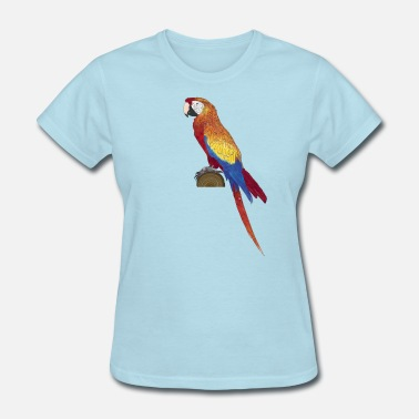 Macao Ara Macao color - scarlet macaw - Women's T-Shirt