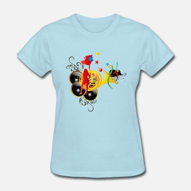 Music System sound system - Women's T-Shirt