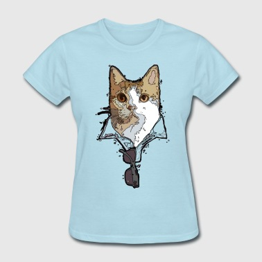 Cool Cats - Pawesome - Women's T-Shirt