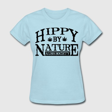 Hippy by Nature  - Women's T-Shirt