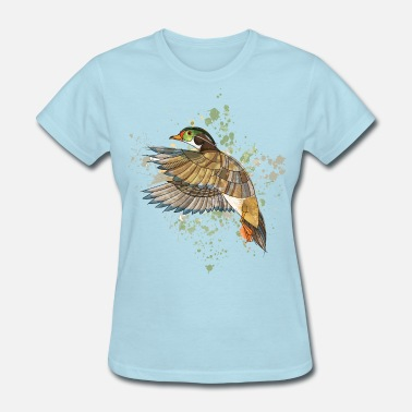 Duck Geek duck - Women's T-Shirt