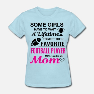 Plus Football Mom - Women's T-Shirt