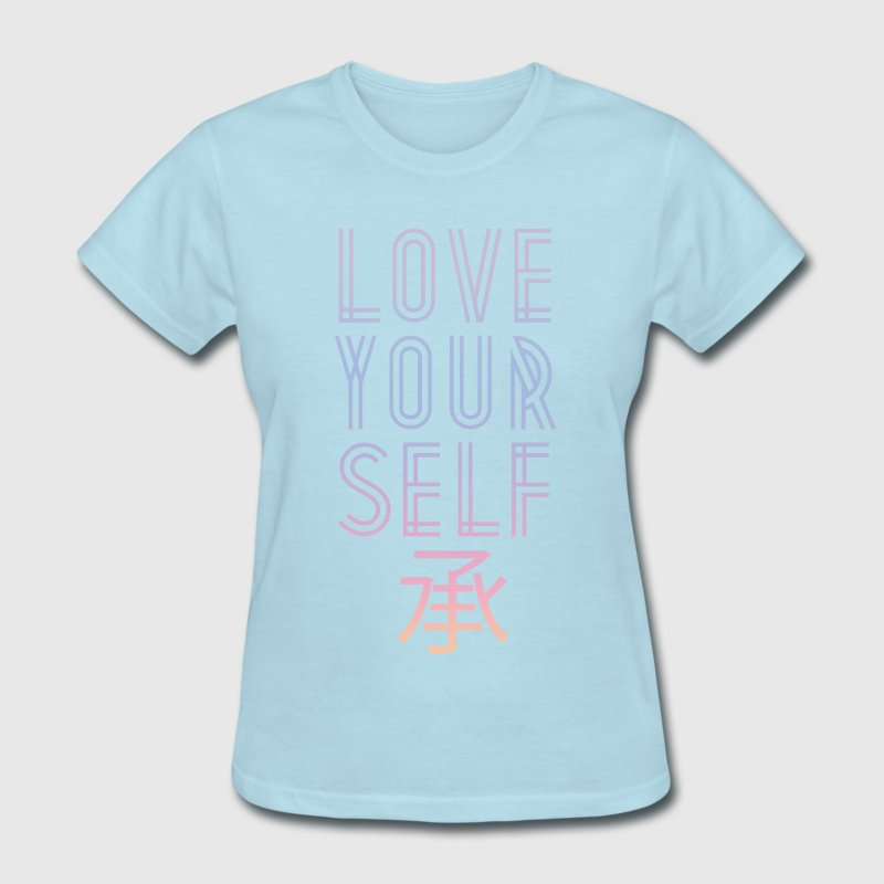 BTS: LOVE YOURSELF GRADIENT - Women's T-Shirt