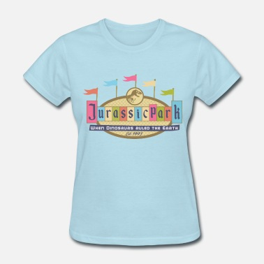 Jurassic Land - Women's T-Shirt
