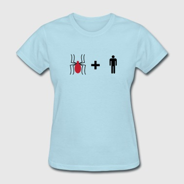 Spider + Man - Women's T-Shirt
