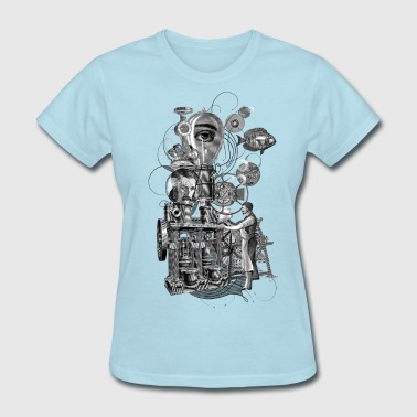 Surreal Surreal machine - Women's T-Shirt