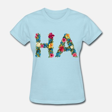 HA - Hawaii coast guard code - Women's T-Shirt