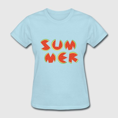 cute watermelon summer - Women's T-Shirt