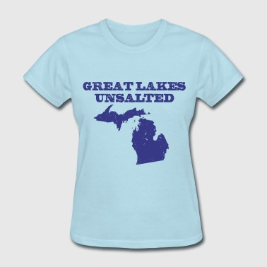 Great Lakes Great Lakes Unsalted Blue - Women's T-Shirt