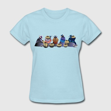 Market Day in Otavalo Bolivia - Women's T-Shirt