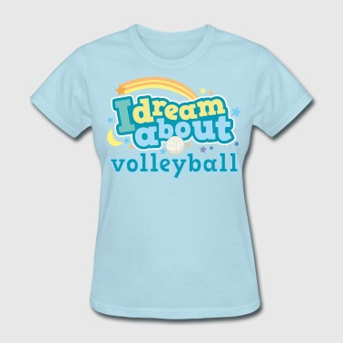Future Volleyball Player Volleyball (I Love) Cute - Women's T-Shirt