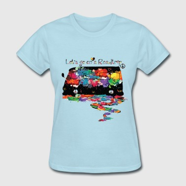 Lets go on a roadtrip - Women's T-Shirt