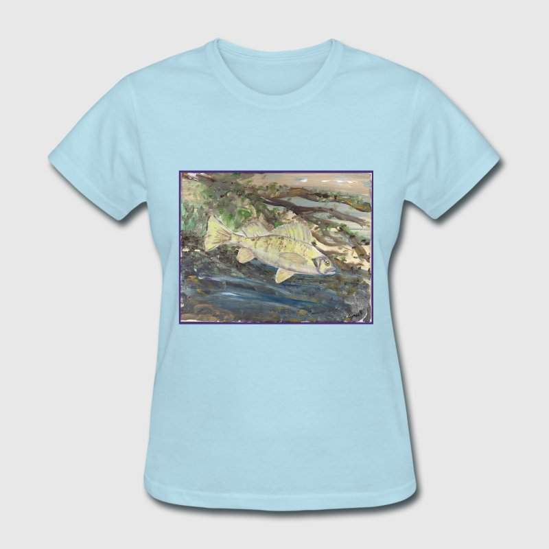 Yellow Perch Art - Women's T-Shirt