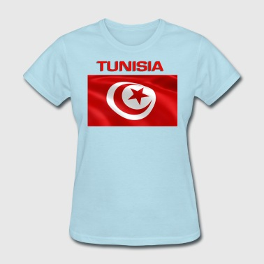 Flag Of Tunisia - Women's T-Shirt