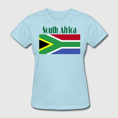 South African Flag - Women's T-Shirt