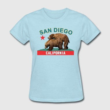 san_diego_bluegold - Women's T-Shirt