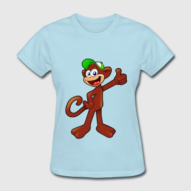 Monkey Cartoon cartoon monkey - Women's T-Shirt