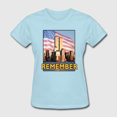 9/11 Remember 9-11 - Women's T-Shirt