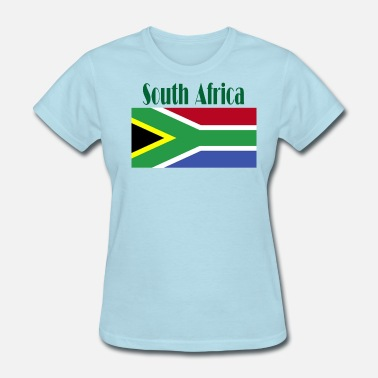 South African Flag South African Flag - Women's T-Shirt