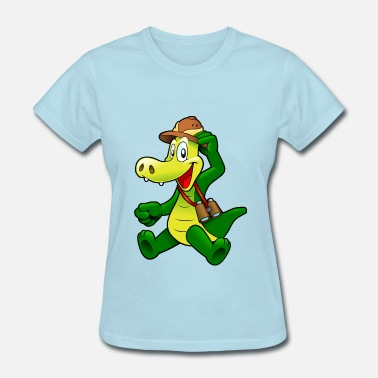 Cartoon Crocodile cartoon crocodile - Women's T-Shirt