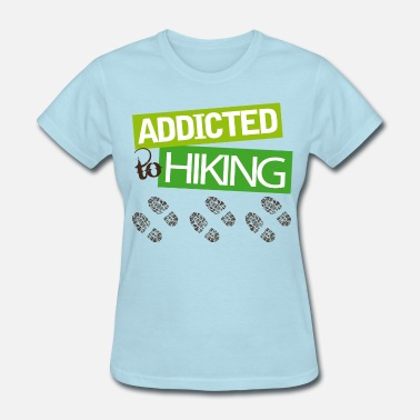 7567ab5b541 Shop I Love Hiking T-Shirts online | Spreadshirt