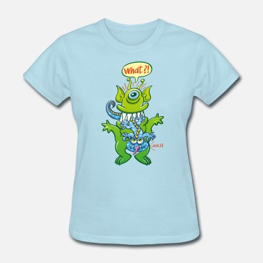 Devour Big monster eat little monster - Women's T-Shirt