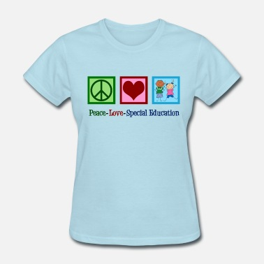 Sheeran Cute Special Education - Women's T-Shirt