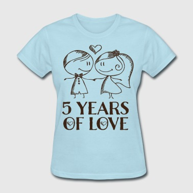 5th Anniversary 5 Years - Women's T-Shirt
