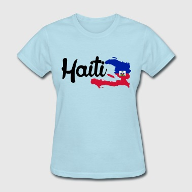 Haiti Caribbean haiti map - Women's T-Shirt