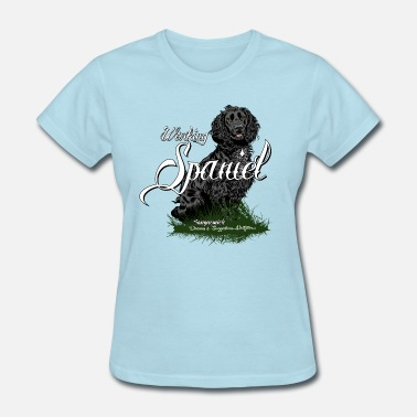 Spaniel Hunting working_spaniel - Women's T-Shirt