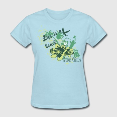 Life Is A Beach design - Women's T-Shirt