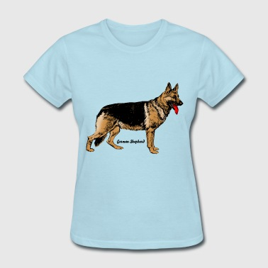 German Shepherd Dog Dog German Shepherd - Women's T-Shirt