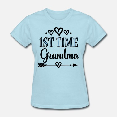 4a7f6dd1 ... T-Shirt New Grandmoth. from $28.43. 1st Time Grandma Announcement -  Women's ...