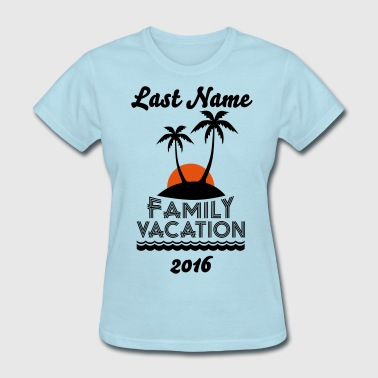 Family Beach Vacation - Women's T-Shirt