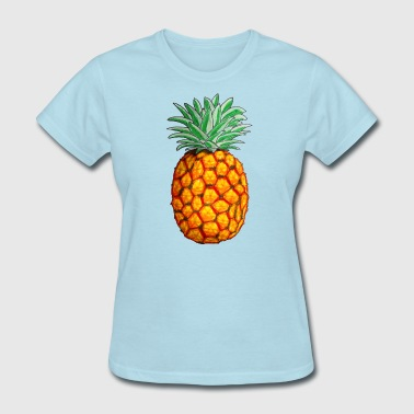Pineapple in Color - Women's T-Shirt