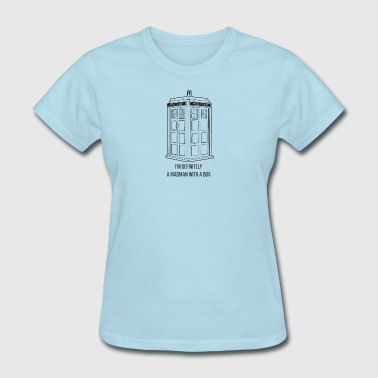 madman with a box - Women's T-Shirt