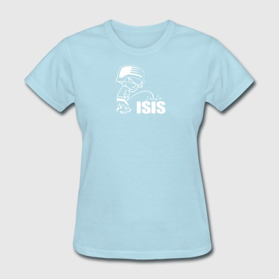 Pee On Isis Decal Look - Women's T-Shirt