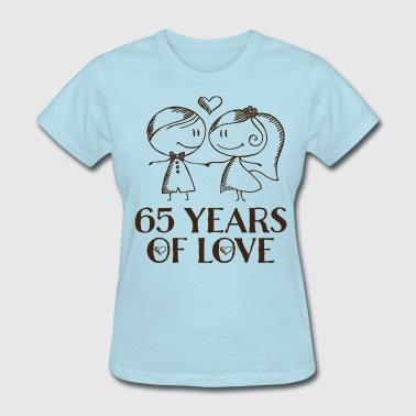 65th Wedding Anniversary Gift Womens T Shirt Spreadshirt