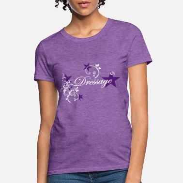 Dressage Dressage Floral Tribal Stars - Women's T-Shirt