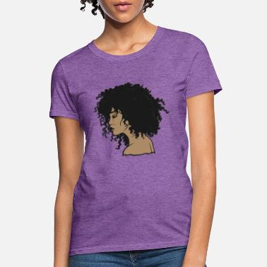 Black Girl My Afro - Natural Hair - Afrocentric Gift - Women's T-Shirt