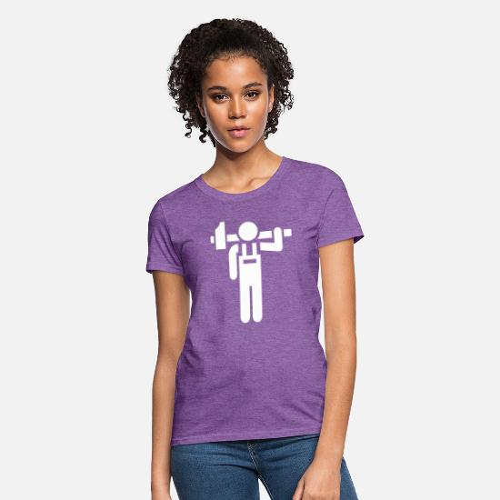 Craftsman T-Shirts - Craftsman - Women's T-Shirt purple heather