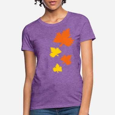 Autumn Leaves Baby autumn leaves - Women's T-Shirt