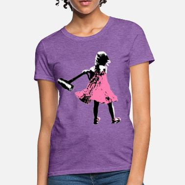 Graffiti Axe Girl - Women's T-Shirt