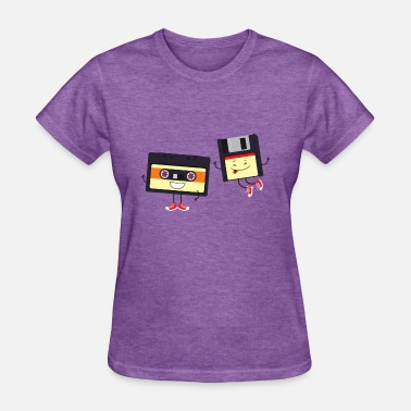 Tape Drive Floppy and cassette tape - Women's T-Shirt