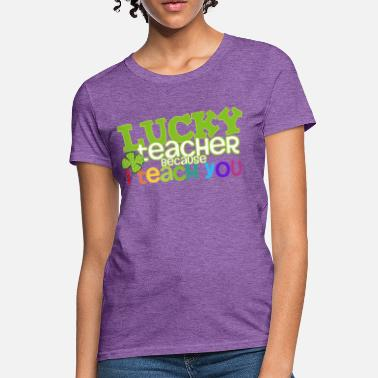Elementary School Lucky Me - Women's T-Shirt