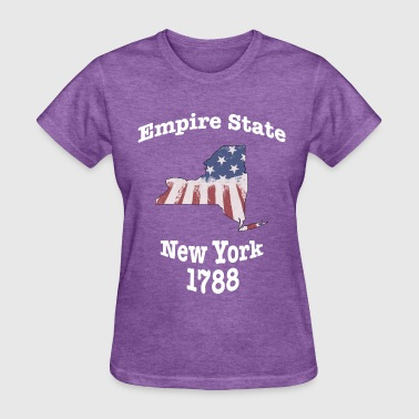 New German States New York Empire State 1788 USA - Women's T-Shirt