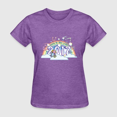 Born in the year 2017 cb - Women's T-Shirt