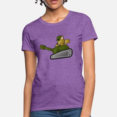 Kitty PAW-ZER Cat Tank - Women's T-Shirt