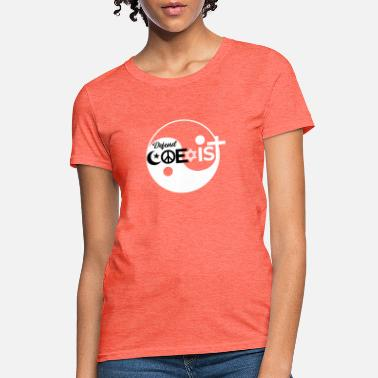 Phone Defend Coexist Equality - Women's T-Shirt